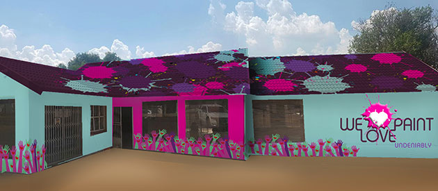 We Love Paint, George, Mossel Bay, Oudtshoorn, www.south-africa-info.co.za